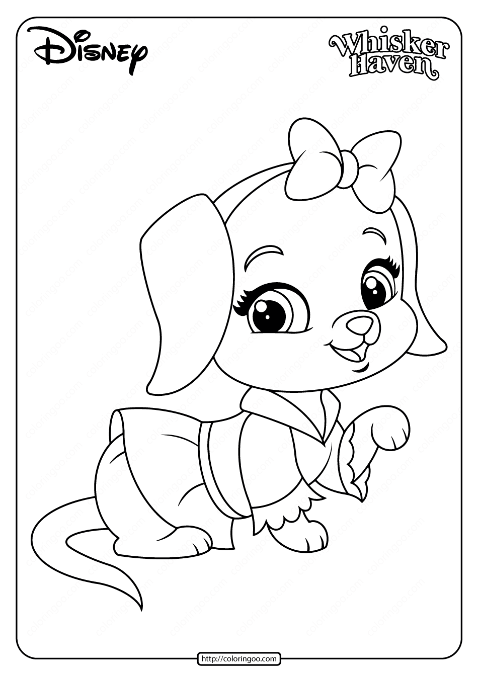 Printable Palace Pets Lucy Pdf Coloring Pages In 2020 Elmo Coloring Pages Barbie Coloring Pages Coloring Pages