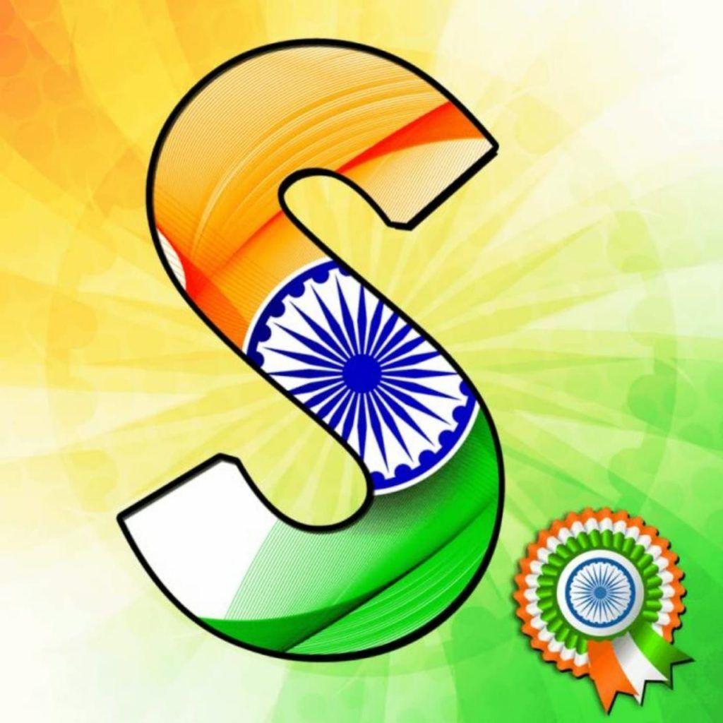 Alphabet Tiranga Image Letter Name Tiranga Images For Whatsapp Dp Indian Flag Images Indian Flag Wallpaper Alphabet Images