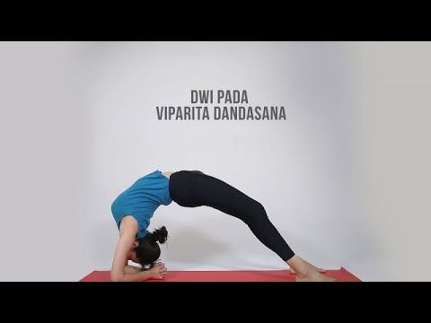 1147 how to do dwi pada viparita dandasana  youtube