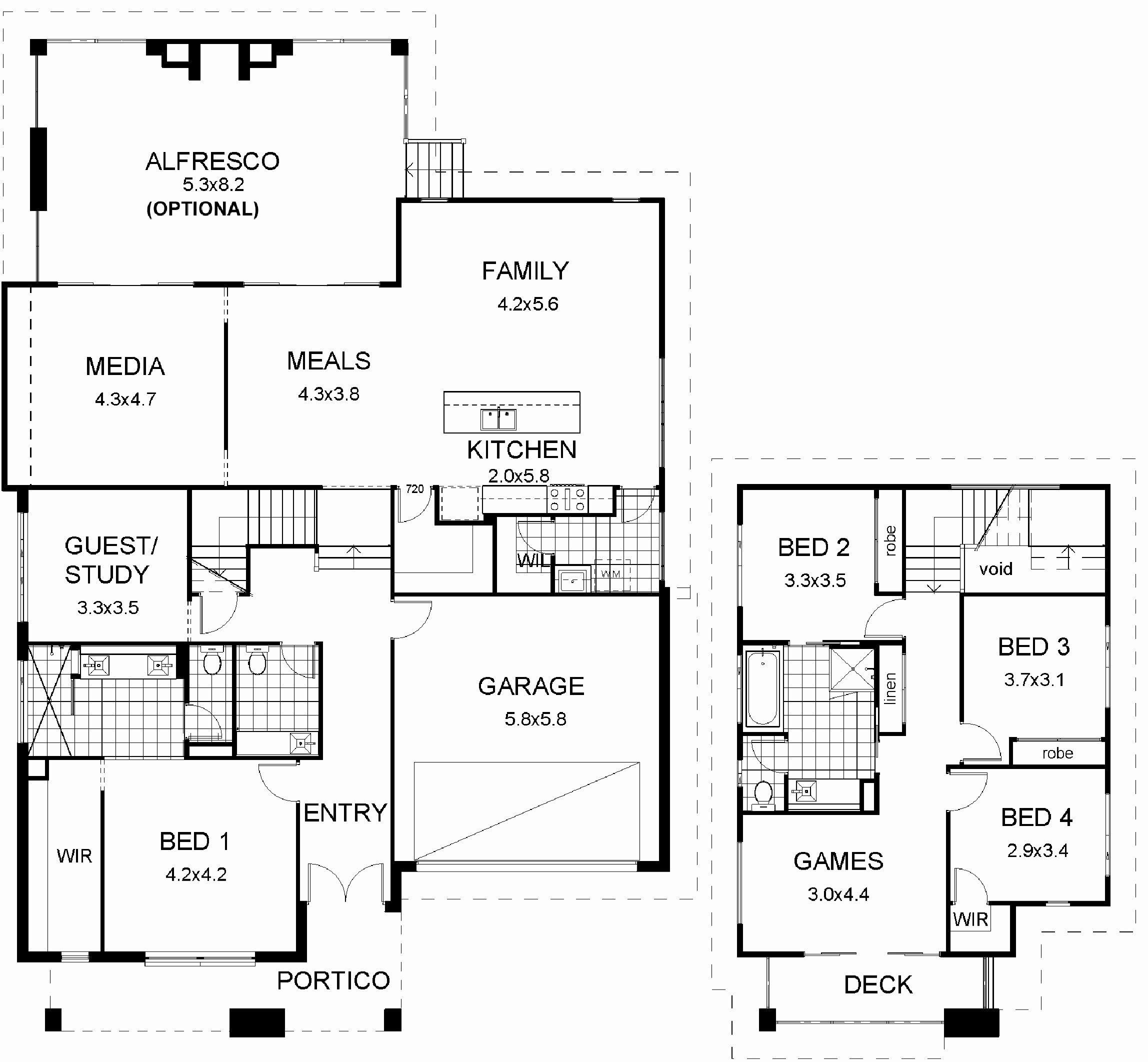 30 60 House Plan Elevation 3d View Drawings Pakistan Unusual Plans Theworkbench Split Level Floor Plans Split Level House Remodels Split Level House Plans