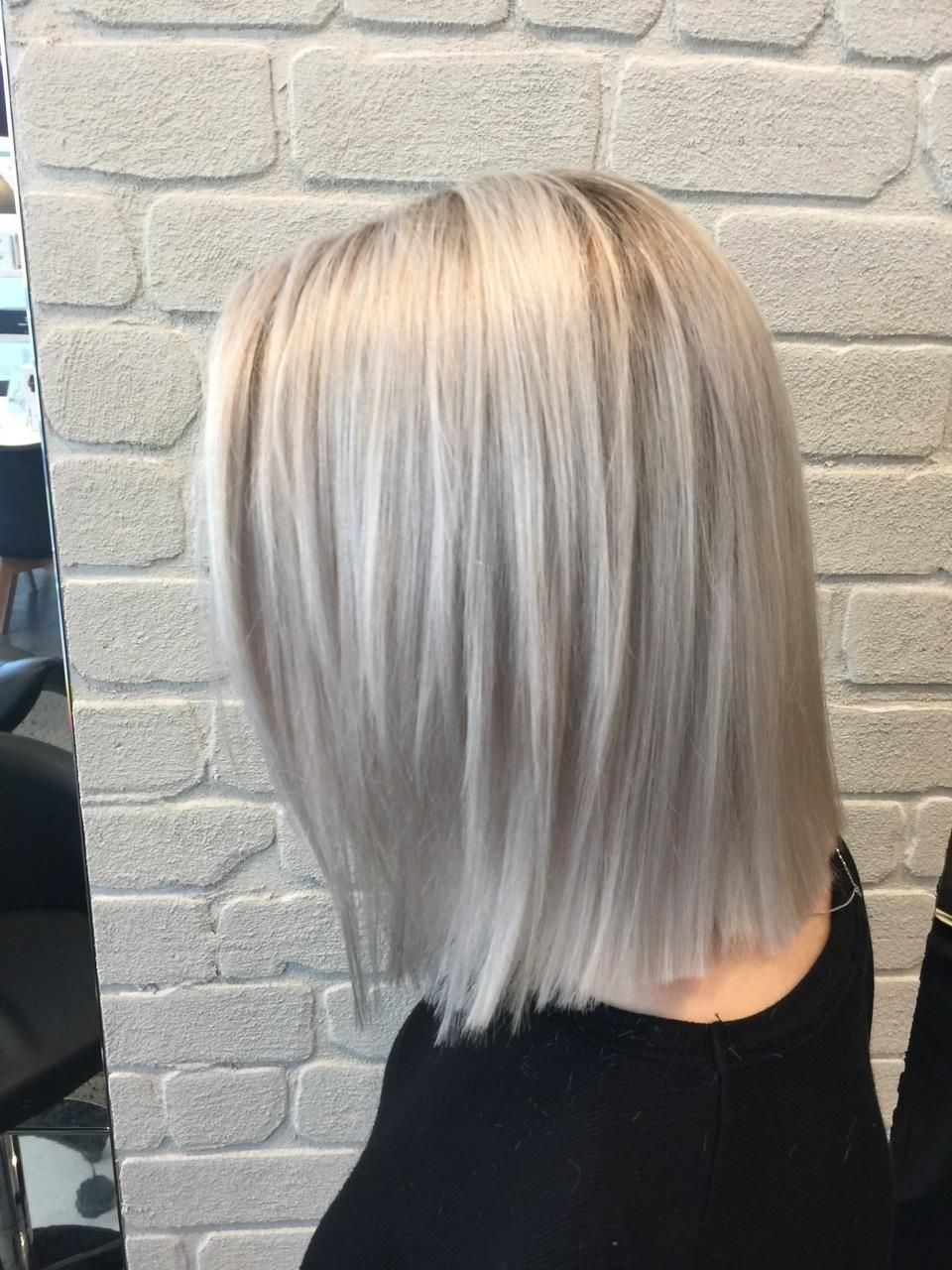 Looking The Part Silver Blonde Color Correction Silver Blonde Hair Silver Blonde Blonde Color