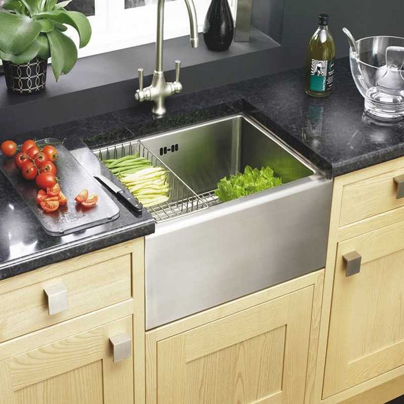 cast iron kitchen sinks vs stainless steel vintage kitchen sink with cabinet white porcelain cast - Cast Iron Kitchen Sinks