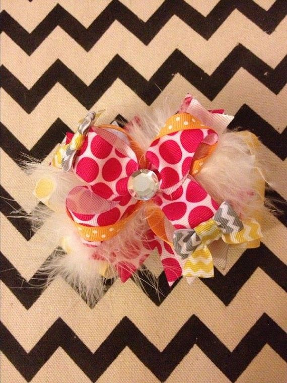 Over the Top Bows by LittleLittleBeauties on Etsy, $10.00