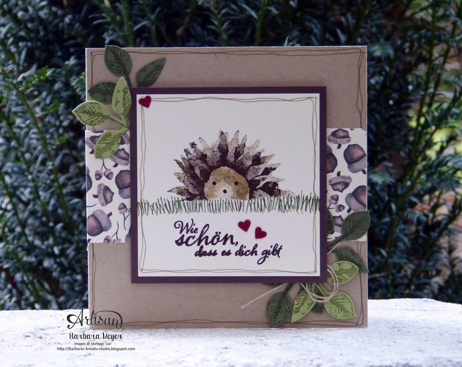 StampinUp!; stampinup; Hochzeit; Einladungskarten; Geburtstage ... - Einladungskarte Sonnenblume