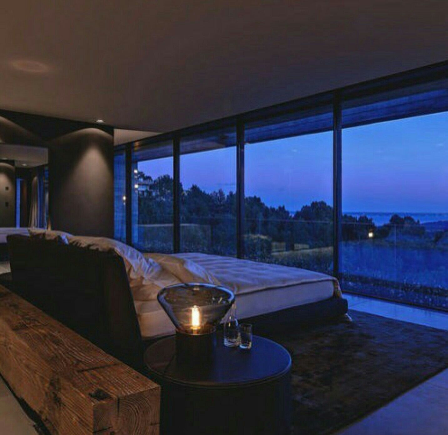 Bed with a view