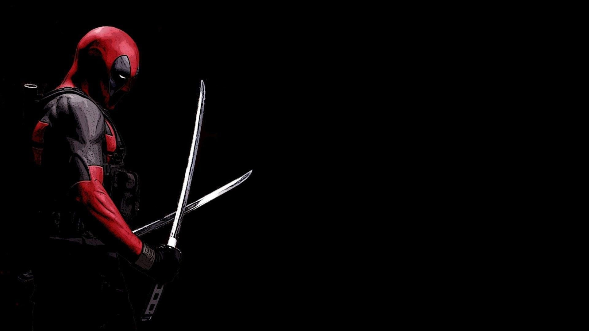 1920x1080 Black Deadpool Wallpapers Deadpool Wallpaper Desktop Deadpool Hd Wallpaper Ninja Wallpaper
