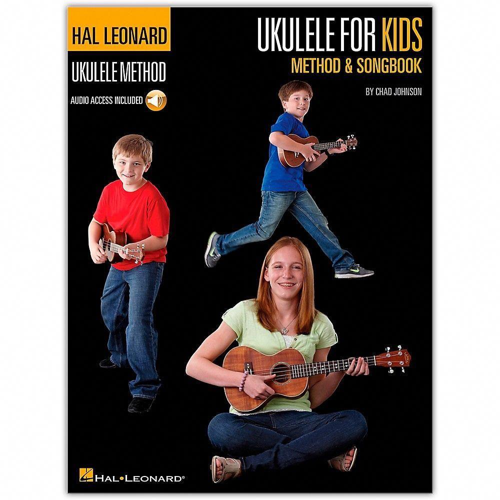 Hal Leonard Ukulele for Kids Method & Songbook Book/Audio