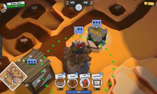 Dethroned is a Free to play MOBA (Multiplayer online battle arena) mixed  with Reat