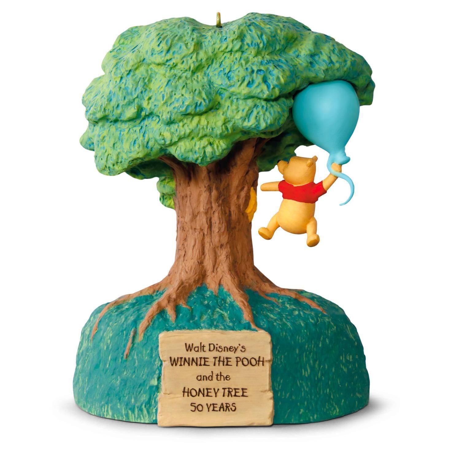 Disney Winnie The Pooh And Honey Tree 50th Anniversary Music Motion Ornament
