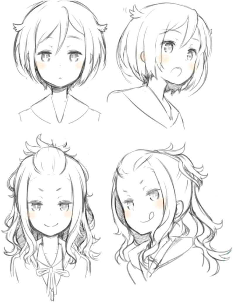 Photo of Top 25 Anime Girl Hairstyles Collection