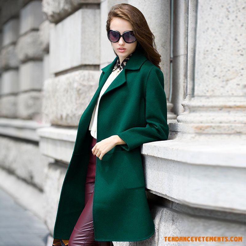 manteau femme elegant pas cher