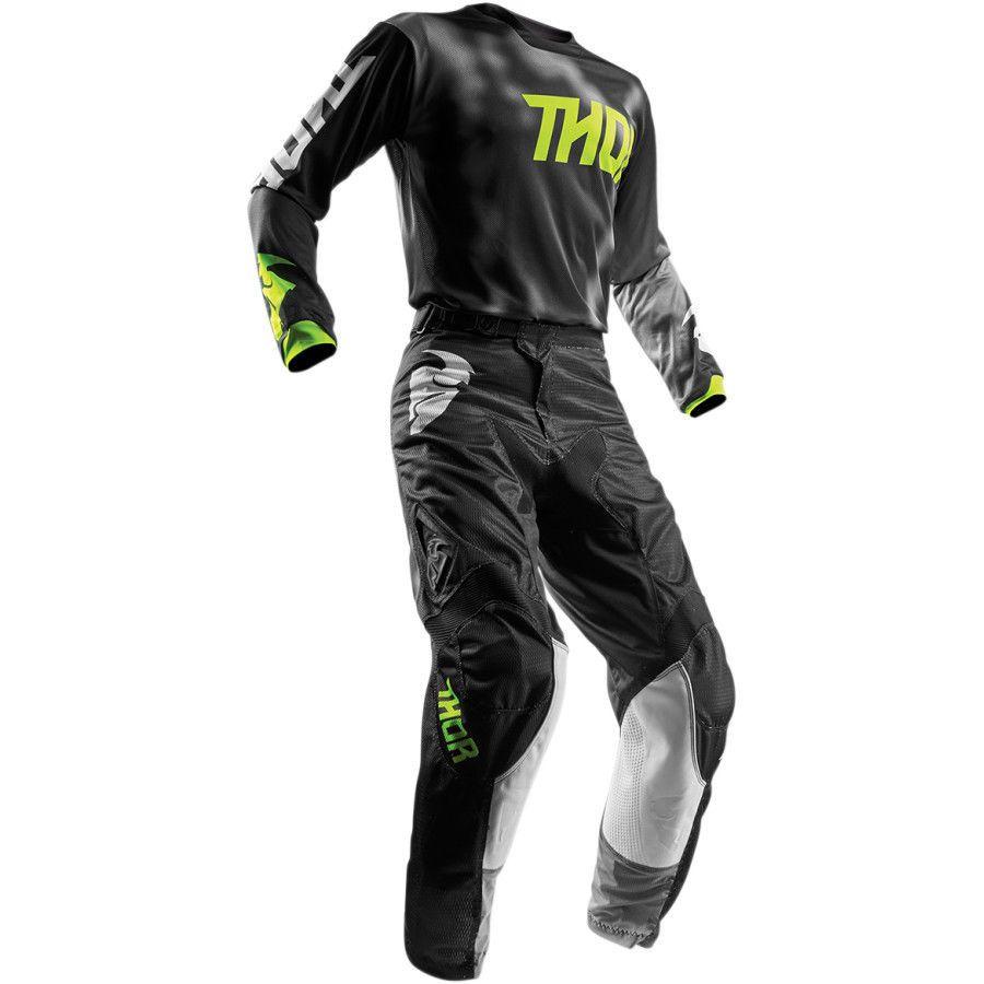 Thor 2018 S8 Pulse Air Radiate Combo MX/ATV Jersey LG Pant