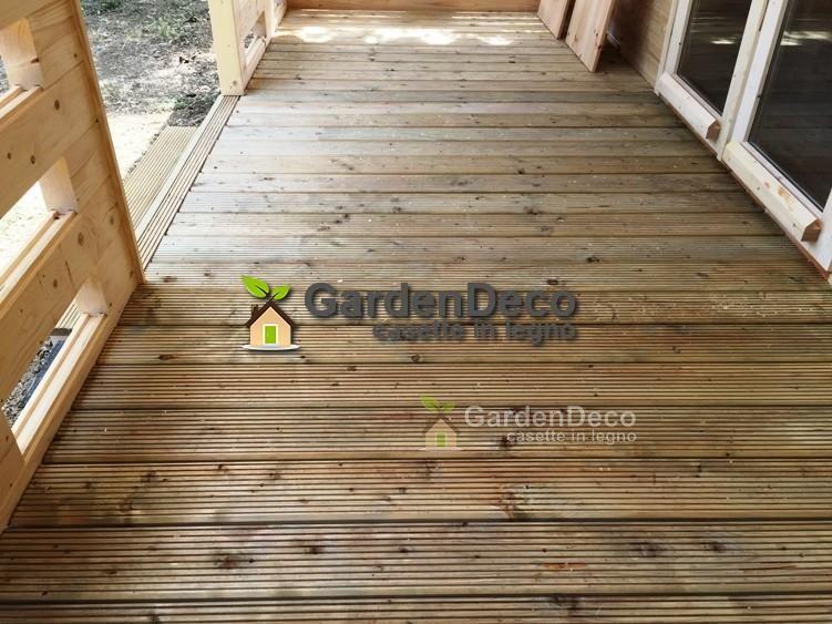 Photo of Bungalow in legno prefabbricato modello Typ-1 50mq | Gardendeco