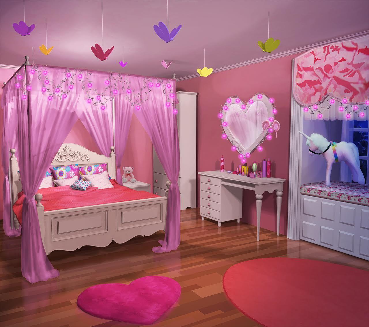 Anime Wallpaper For Bedroom Bedroom Arrangement Pictures Vintage Teenage Bedroom Ideas Hippie Bedroom Decor: INT. KARENS BEDROOM - NIGHT