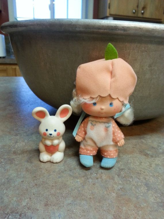 Vintage Apricot Strawberry Shortcake Doll by therustywagonshoppe, $18.50