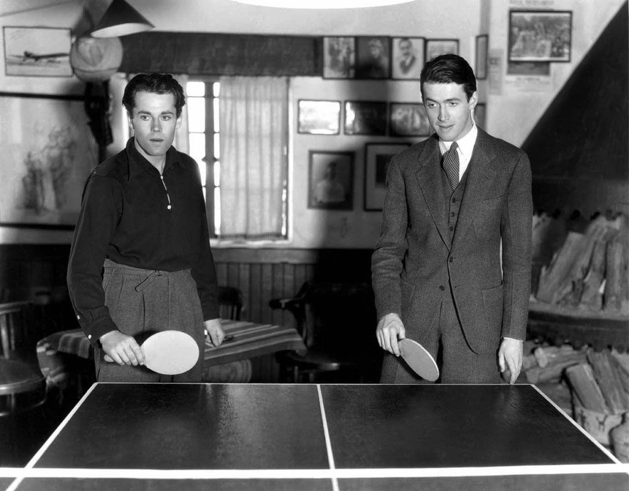 Henry Fonda and Jimmy Stewart, 1937 Biografias, Série de