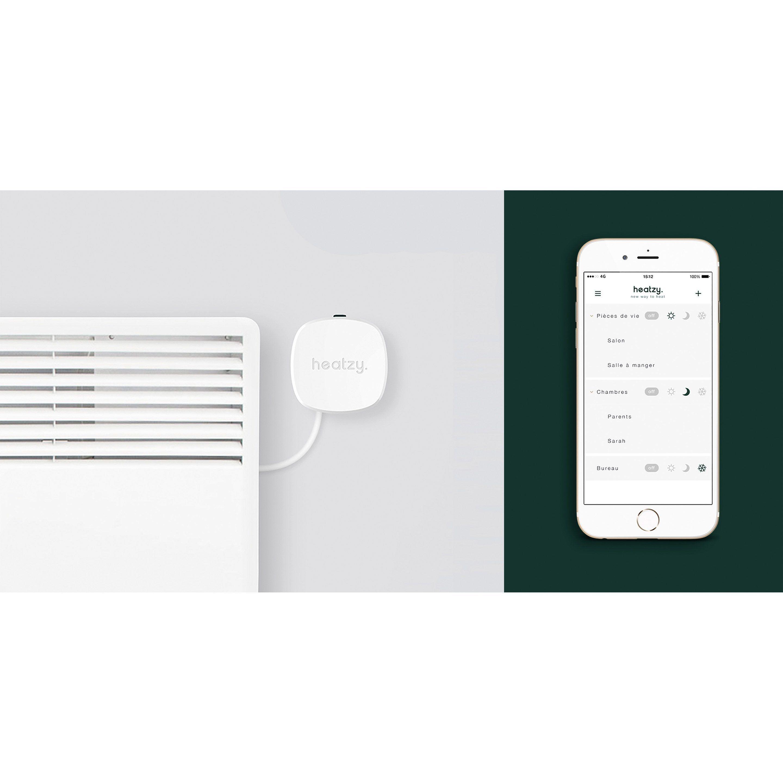 Programmateur Connecte Et Intelligent Filaire Heatzy Domino Electrique Chauffage Electrique Et Renovation Energetique