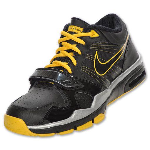 Nike Trainer 1.2 Mid Men s Cross-Training Shoe Black Varsity Maize ... cf93d1e0d7