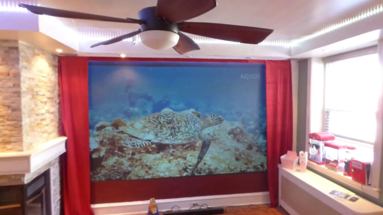 720p - 1080p, long and short throw projectors on our luminous ALR