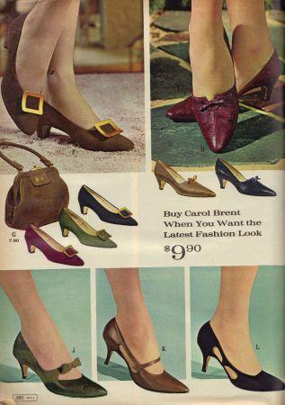 1965 Hats, Shoes, Purses, \u0026 Gloves