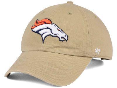32311f4d9f0430 Denver Broncos '47 NFL Khaki '47 CLEAN UP Cap | Sports Photos ...