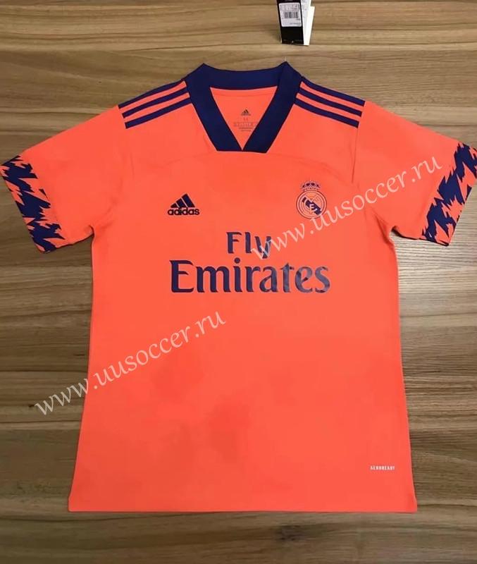2020 2021 Real Madrid Orange Thailand Soccer Jersey Aaa In 2020 Soccer Jersey Madrid Football Club Soccer