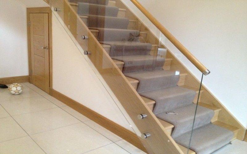 escalera forrada con madera roble escaleras pinterest