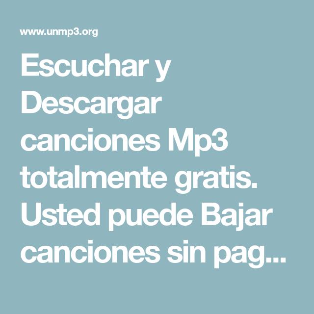 13 Ideas De Descargar Musica Gratis Mp3 Descargar Musica Gratis Mp3 Musica Gratis Descargar Música