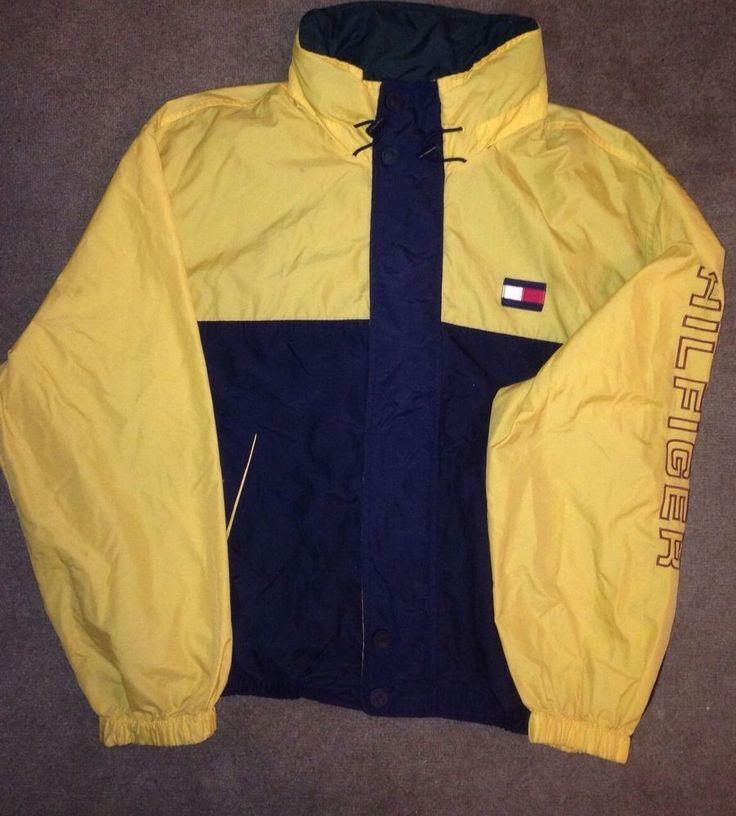 90s Vintage Tommy Hilfiger Jacket Rare Xl Vtg Tommy Hilfiger Jacken Mode Looks Modestil