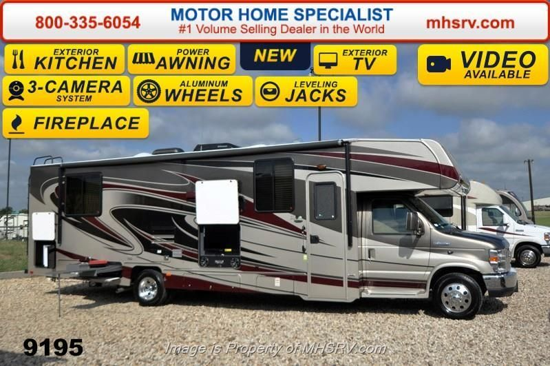 New 2015 Coachmen Leprechaun 319DSF W/Ext TV & Kitchen, 2 Recliners, Jacks For Sale by Motor Home Specialist available in Alvarado, Texas