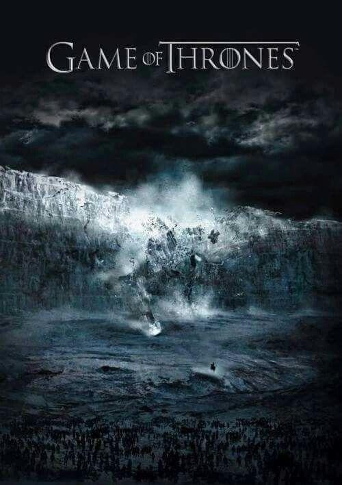 #GamrOfThrones #TheWall destroyed?  Season 7