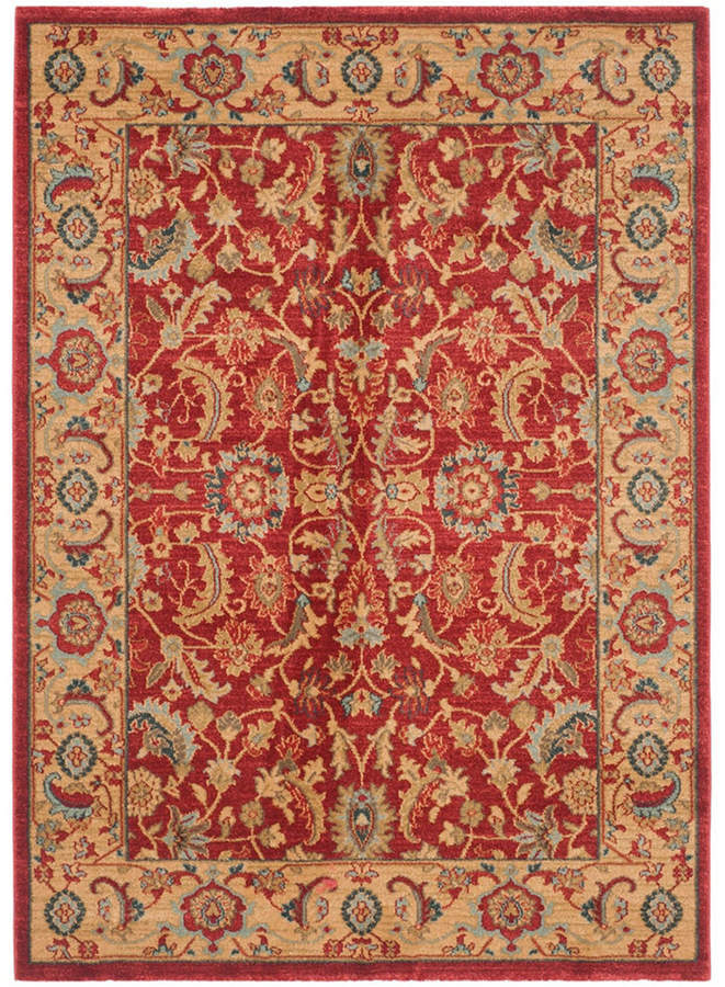 Safavieh Mahal Red And Natural 10 X 14 Area Rug Reviews Rugs Macy S Rugs Area Rugs Persian Motifs