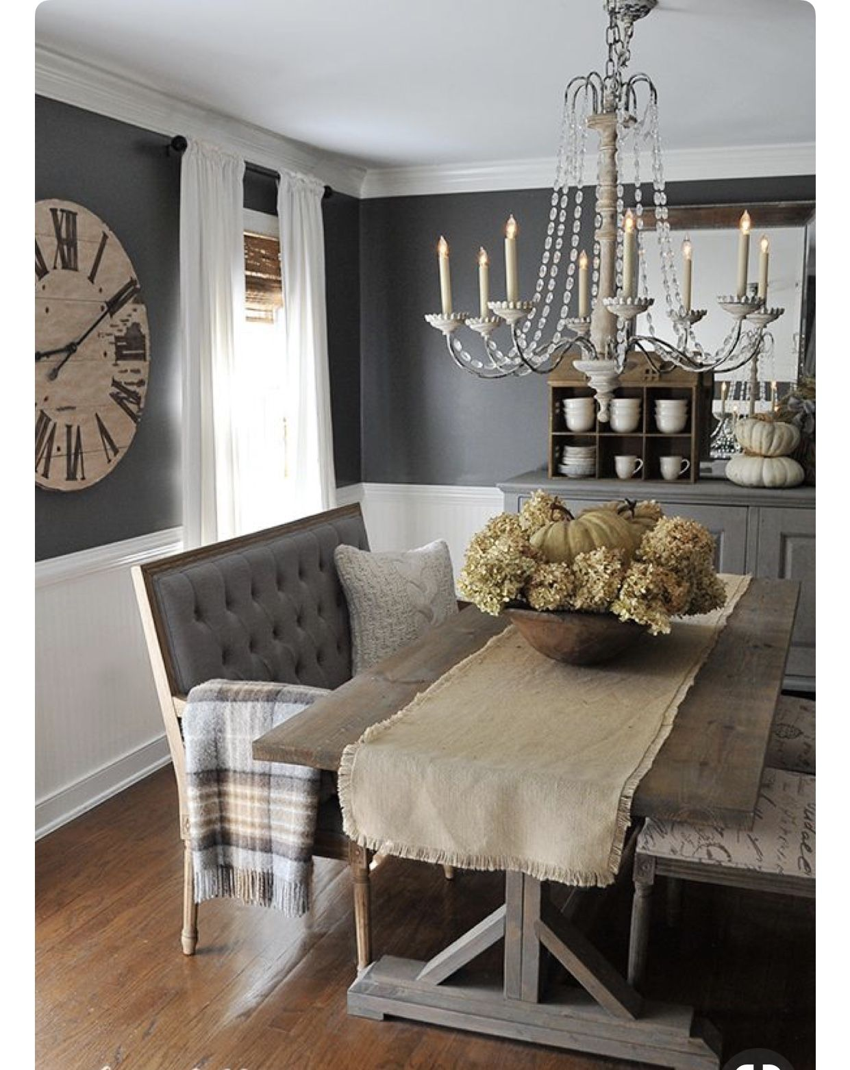 Rustic Glam Dining With Images Farmhouse Dining Rooms Decor