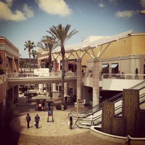 Fashion Valley Mall, San Diego, California, Mission Valley, vintage looking, EKE Arts, Photography by Eric Embacher