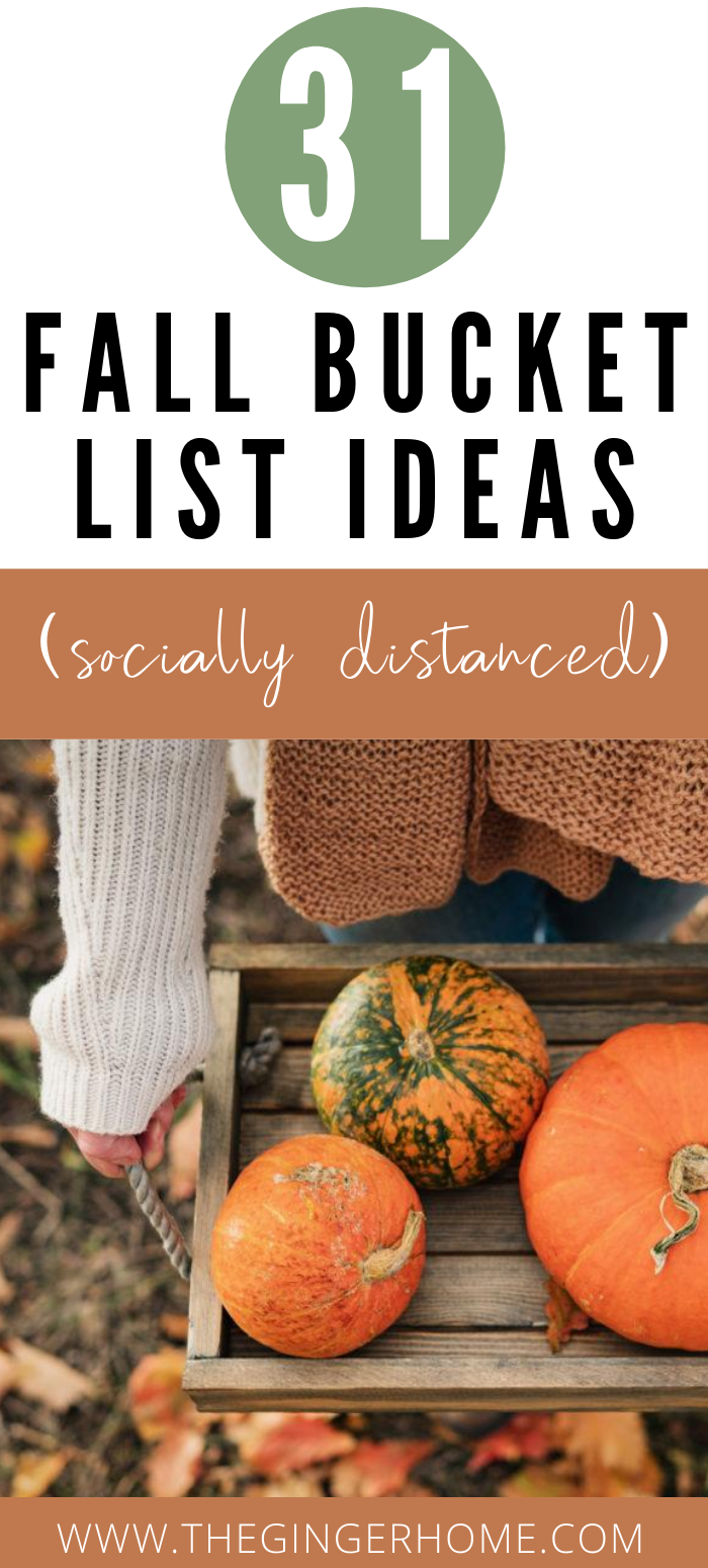 Free Printable Fall Bucket List 31 Fun Fall Activities The Ginger Home Fun Fall Activities Autumn Activities For Kids Fall Bucket List
