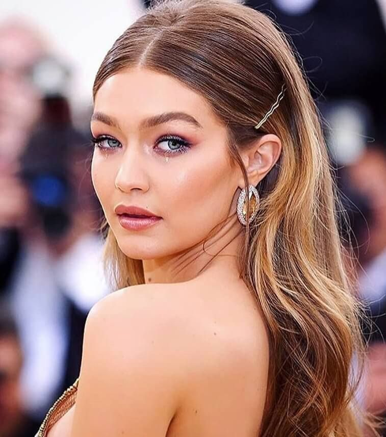 Gigi Hadid Hair Style For Met Gala 2018 by Stylist Laura Polka