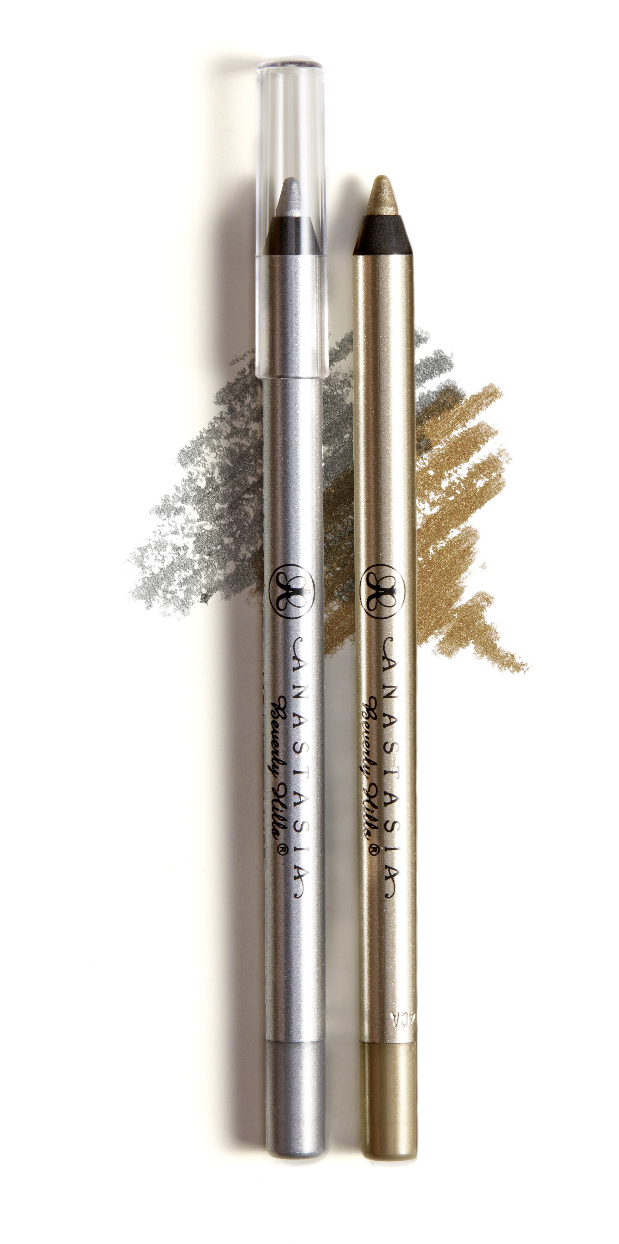 Metallic luster liner liquid silver liquid gold luster and metallic