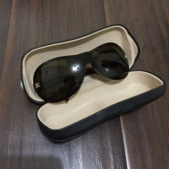 e52b0980c99c3 Authentic Chanel sunglasses 5066 c.538 73 120 Authentic Chanel sunglasses.  In excellent condition. Probably the best looking sunglasses ever.