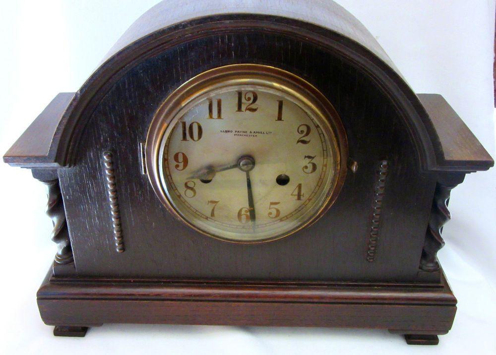Vintage Lloyd Payne & Amiel Ltd Clock Manchester Made in England ...