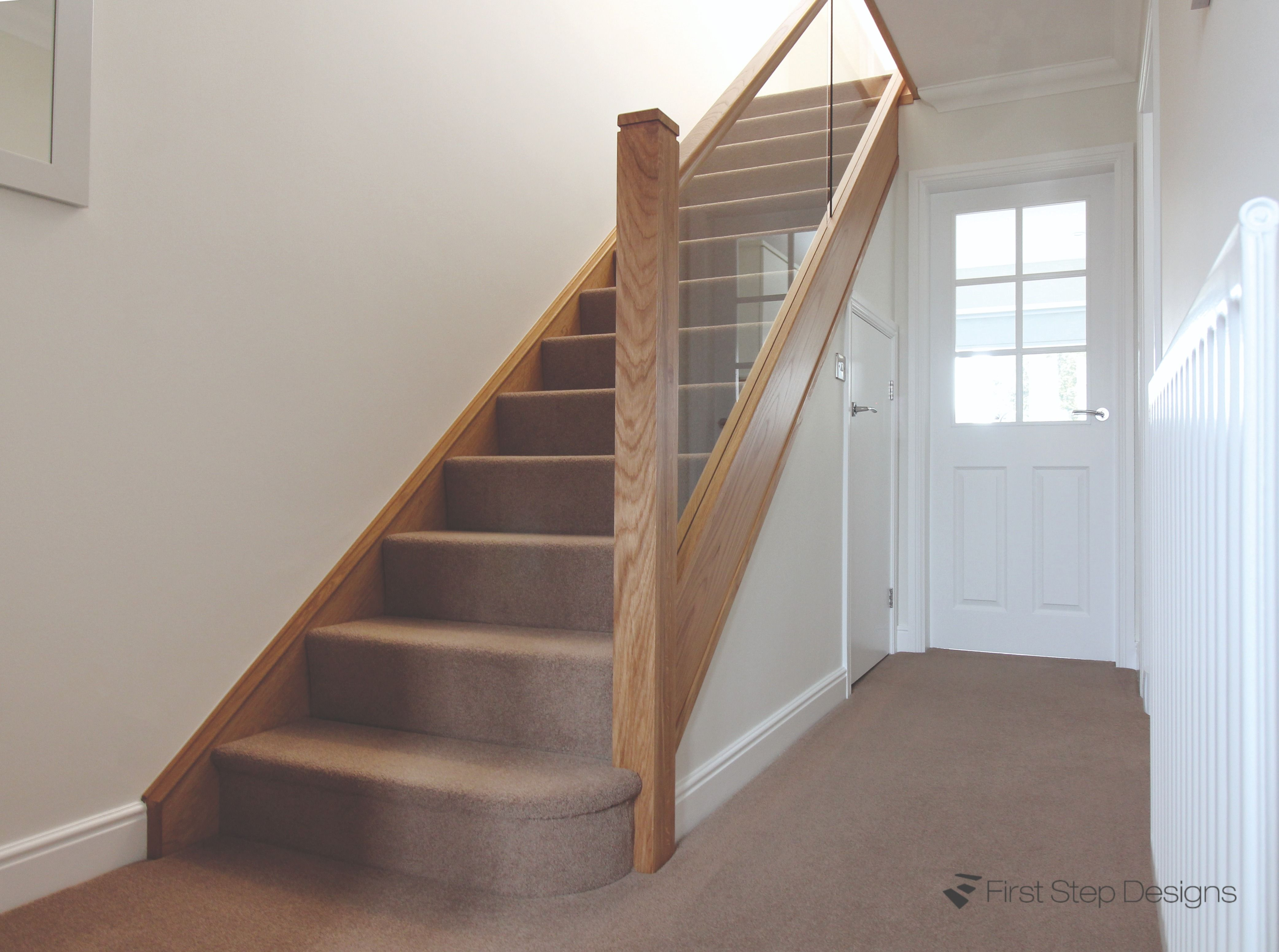 Best Pin By First Step Designs Ltd On Staircase Renovations 400 x 300