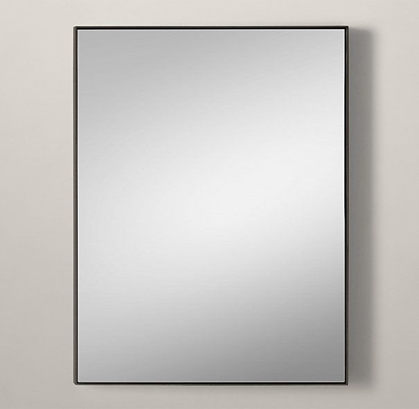Metal Floating Mirror Everything S Big Bathroom