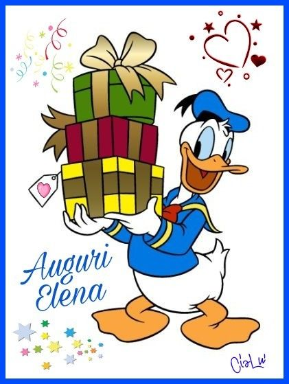 Buon Compleanno Elena | Disney Ducks | Dibujos animados