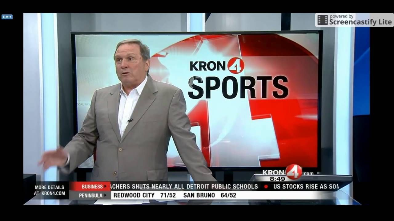 Local Sportscaster Gets Angry At News Anchor For Stealing