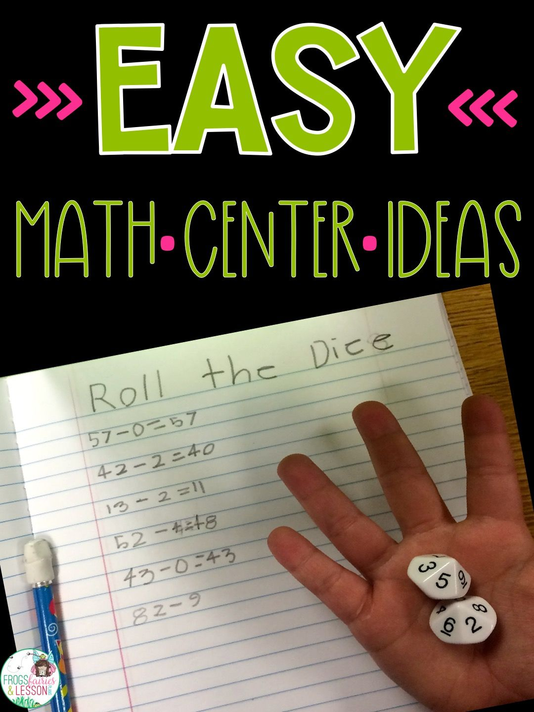 Pin On Math Blog Posts By Frogs Fairies And Lesson Plans