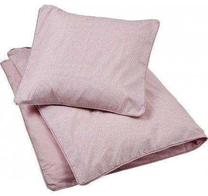 Lækkert sengetøj fra Filibabba i den fine farve Dusty rose. Det vil vi gerne sove i :-) #filibabba #sengetøj #babysengetøj #børn #design #økologi