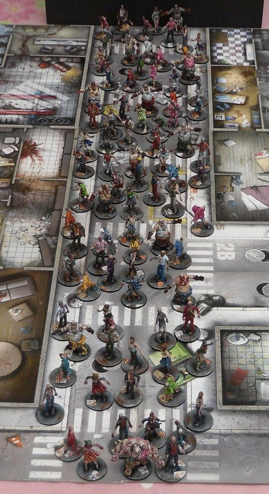 Galerie Zombicide Saison 1 With Images Miniature Painting