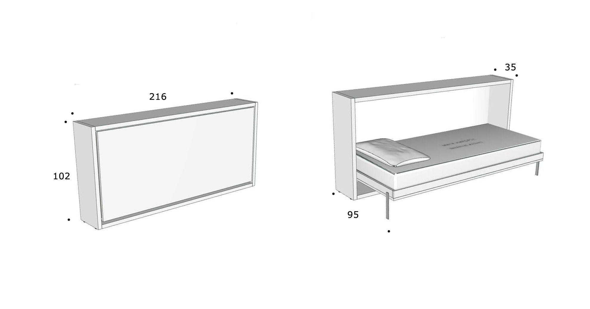 Schrankbett Kali 90 online kaufen - direkt beim Hersteller ...