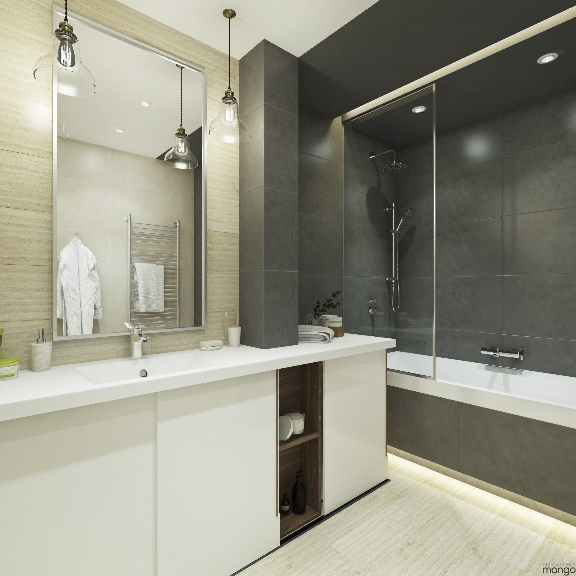 Elegant And Beautiful Bathroom Design With Modern Style