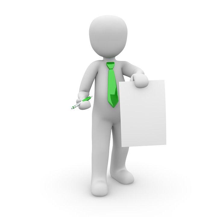 Carte De Visite Contrat Presentation Cravate