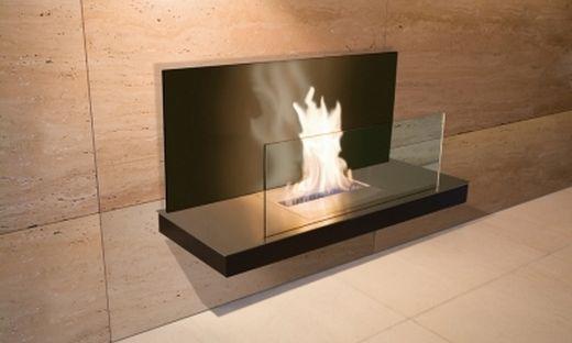 Wandkamin Radius Flame 2 Kamin Bioethanol Kamin Kamin Wand
